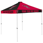 Texas Tech Tent w/ Red Raiders Logo - 9 x 9 Checkerboard Canopy