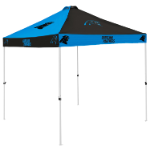 Carolina Tent w/ Panthers Logo - 9 x 9 Checkerboard Canopy