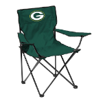 Green Bay Quad Chair w/ Packers Logo