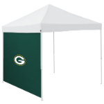 Green Bay Tent Side Panel w/ Packers Logo - Logo Brand