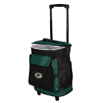 Green Bay Rolling Cooler w/ Packers Logo - 24 Cans