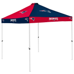 New England Tent w/ Patriots Logo - 9 x 9 Checkerboard Canopy