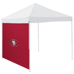 San Francisco Tent Side Panel w/ 49ers Logo - Logo Brand