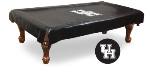 Houston Pool Table Cover w/ Cougars Logo - Black Vinyl