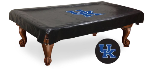 Kentucky Pool Table Cover w/ Wildcats 'UK' Logo - Black Vinyl