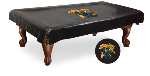 Kentucky Pool Table Cover w/ Wildcats Logo - Black Vinyl