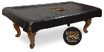 Western Michigan Pool Table Cover w/ Broncos Logo - Vinyl