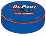 DePaul Blue Demons Bar Stool Seat Cover