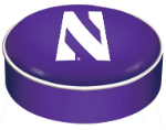 Northwestern Wildcats Bar Stool Seat Cover