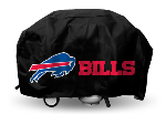 Buffalo Grill Cover with Bills Logo on Black Vinyl - Deluxe