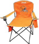 Cleveland Browns Coleman XL Quad Canvas Chair