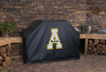 Appalachian State Grill Cover with Mountaineers Logo on Vinyl