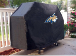 Montana State Grill Cover with Bobcats Logo on Black Vinyl