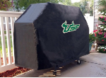 South Florida Grill Cover with Bulls Logo on Black Vinyl