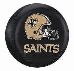 New Orleans Tire Cover with Saints Helmet Logo - Large