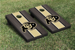 Colorado Cornhole Boards w/ Buffaloes Logo - Bean Bag Toss