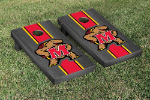 Maryland Cornhole Boards w/ Terrapins Logo - Bean Bag Toss
