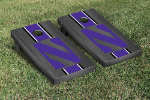 Northwestern Cornhole Boards w/ Wildcats Logo - Bean Bag