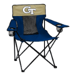 Georgia Tech Elite Chair w/ Yellow Jackets Logo
