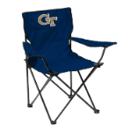 Georgia Tech Quad Chair w/ Yellow Jackets Logo