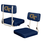 Georgia Tech Stadium Seat w/ Yellow Jackets Logo - Hardback