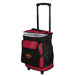 Iowa State Rolling Cooler w/ Cyclones Logo - 24 Cans
