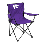 Kansas State Quad Chair w/ Wildcats Logo