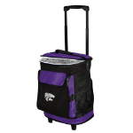 Kansas State Rolling Cooler w/ Wildcats Logo - 24 Cans