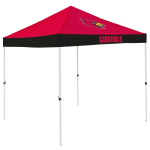 Louisville Tent w/ Cardinals Logo - 9 x 9 Economy Canopy