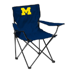 Michigan Quad Chair w/ Wolverines Logo