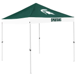 Michigan State Tent w/ Spartans Logo - 9 x 9 Economy Canopy
