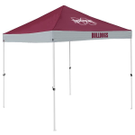 Mississippi State Tent w/ Bulldogs Logo - 9 x 9 Economy Canopy