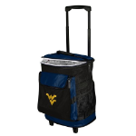 West Virginia Rolling Cooler w/ Mountaineers Logo - 24 Cans