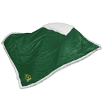 North Dakota State Blanket w/ Bison Logo - Sherpa Throw
