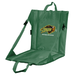 North Dakota State Stadium Seat w/ Bison Logo - Cushioned Back