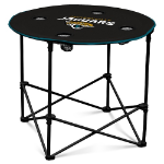 Jacksonville Jaguars Round Tailgating Table