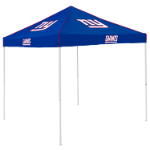 New York Tent w/ Giants Logo - 9 x 9 Solid Color Canopy