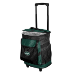 New York Rolling Cooler w/ Jets Logo - 24 Cans