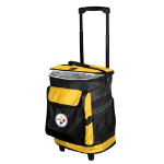 Pittsburgh Rolling Cooler w/ Steelers Logo - 24 Cans