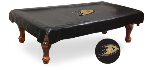 Anaheim Pool Table Cover w/ Ducks Logo - Black Vinyl
