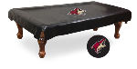 Arizona Pool Table Cover w/ Coyotes Logo - Black Vinyl