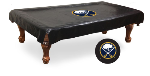 Buffalo Pool Table Cover w/ Sabres Logo - Black Vinyl