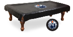 Edmonton Pool Table Cover w/ Oilers Logo - Black Vinyl