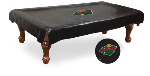 Minnesota Pool Table Cover w/ Wild Logo - Black Vinyl