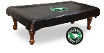 North Dakota Pool Table Cover w/ ND Logo - Black Vinyl