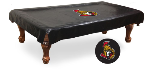 Ottawa Pool Table Cover w/ Senators Logo - Black Vinyl