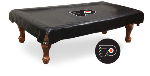 Philadelphia Pool Table Cover w/ Flyers Logo - Black Vinyl
