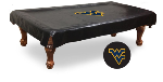 West Virginia Pool Table Cover w/ Mountaineers Logo - Vinyl