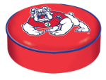 Fresno State Bulldogs Bar Stool Seat Cover By HBS