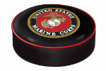 US Marines Bar Stool Seat Cover